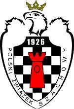 logo: Patron honorowy Polski Związek Szachowy